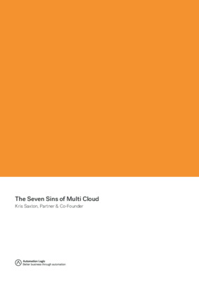 Automation Logic - The Seven Sins of Multi Cloud