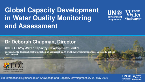 Global Capacity Development in Water Quality Monitoring and Assessment