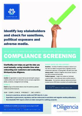 Compliance Screening