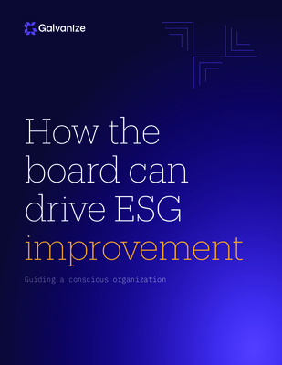 How the board can drive ESG improvement