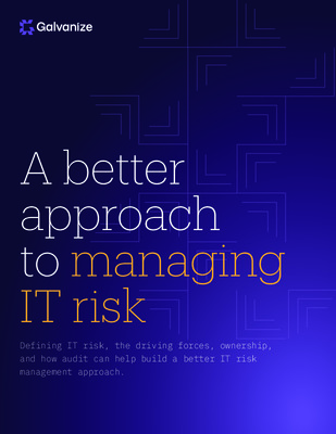 A better approach to managing IT risk