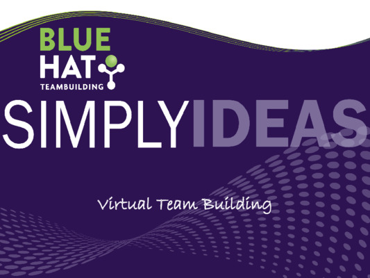 Virtual team building activities from Blue Hat Teambuilding