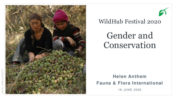 Gender and conservation