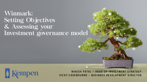 Setting objectives & assessing your investment governance model