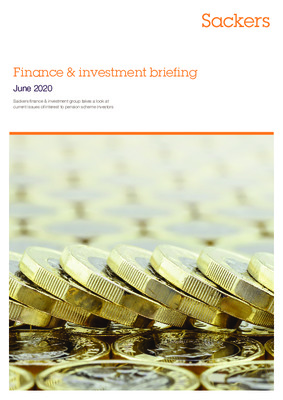 Finance & investment briefing June 2020