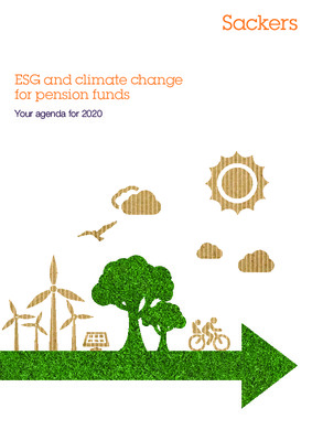 ESG and climate change for pension funds: Your agenda for 2020