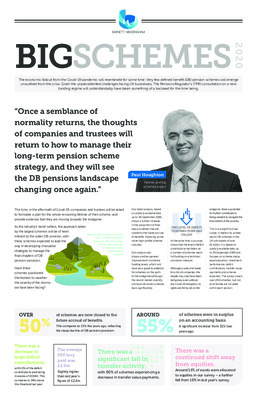 Big Schemes 2020 – how the largest DB pension schemes are performing