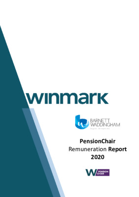Pension Chair remuneration report 2020