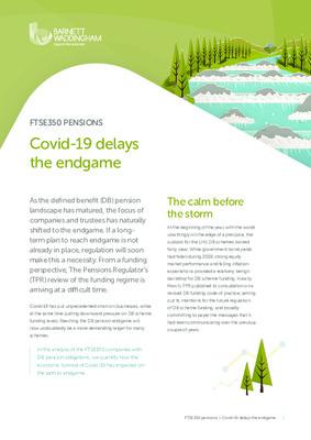 Covid-19 delays the endgame