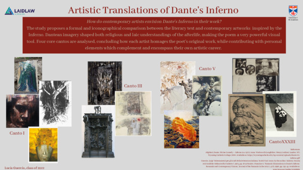 Artistic Translations of Dante's Inferno Final