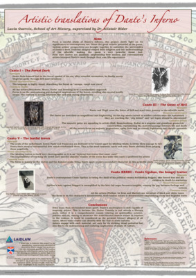 Artistic translations of Dante's Inferno, Research Poster