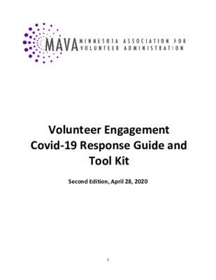 COVID-19 Response Guide and Tool Kit