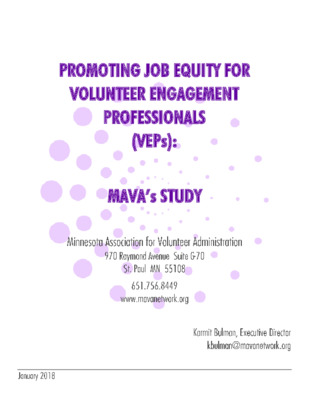 Promoting Job Equity for VEPs Final Report