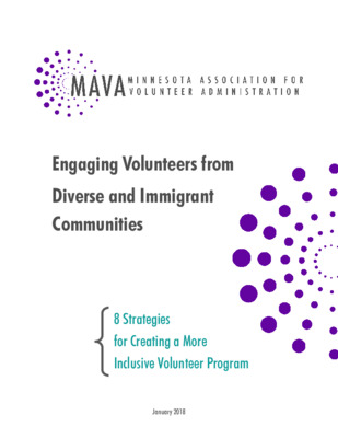 Engaging Volunteers from Diverse and Immigrant Communities