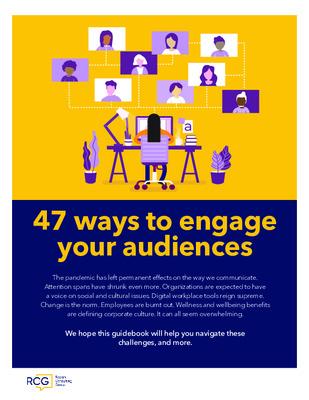 Ragan: 47 ways to engage your audiences