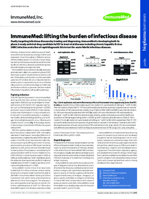 ImmuneMed: lifting the burden of infectious disease