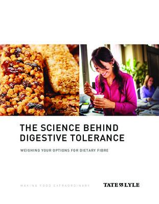Nutrition – Fiber tolerance white paper, PROMITOR® Soluble Fiber