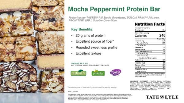 Taste - Mocha Peppermint Protein Bar