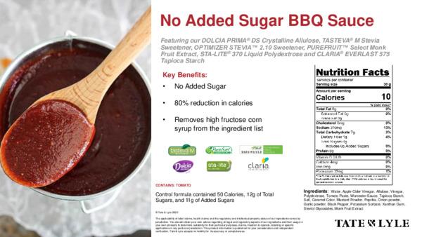 Taste - No Added Sugar BBQ Sauce