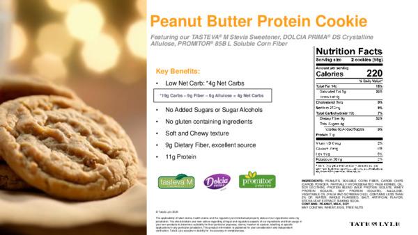 Taste - Peanut Butter Protein Cookie