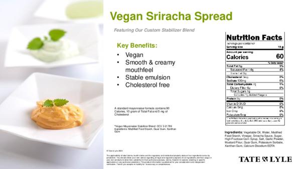 Taste - Vegan Sriracha Spread