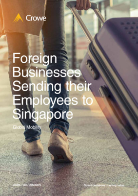 Foreign Businesses Sending their Employees to Singapore