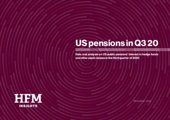 US pensions in Q3 20