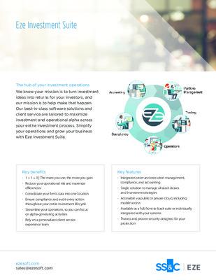 SS&C Eze - Eze Investment Suite Brochure