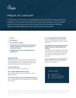 NAV - Proof of Concept