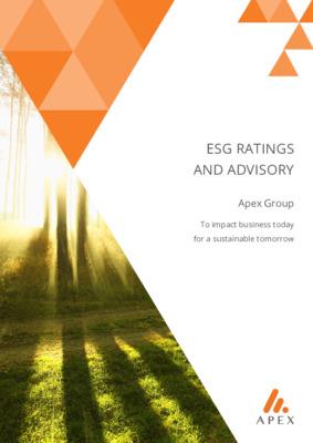 Apex - Brochure: ESG Ratings and Advisory