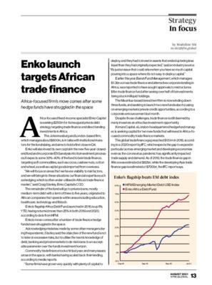 Enko launch targets African trade finance