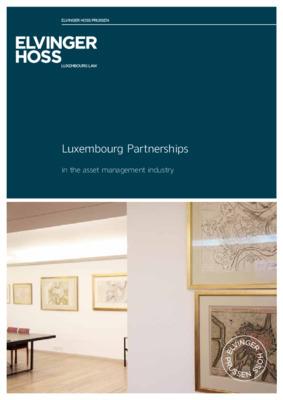 Elvinger Hoss whitepaper: Luxembourg Partnerships in the asset management industry