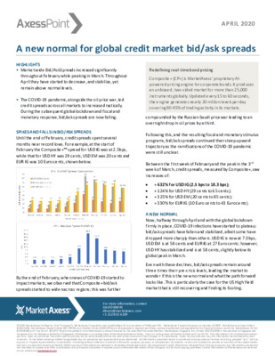 MarketAxess whitepaper: A new normal for global credit market bid/ask spreads