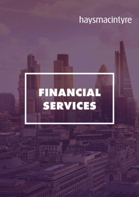 haysmacintyre: Financial services brochure