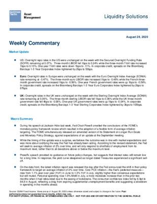 Goldman Sachs: Liquidity Solutions
