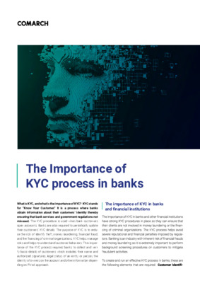 The Importance of KYC process in banks