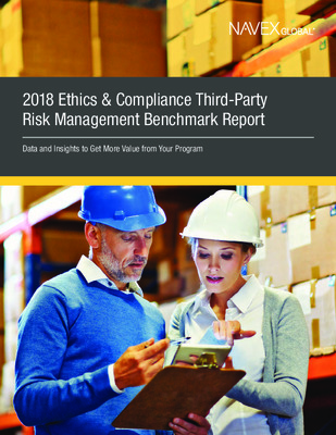 2018 Third Party Risk benchmark report