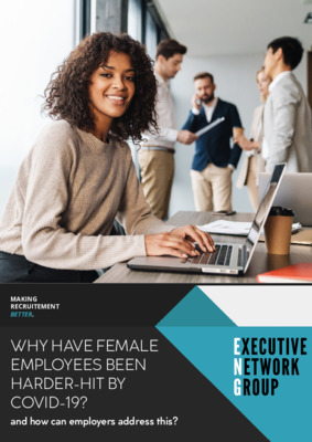 Why have female employees been harder hit by COVID-19?