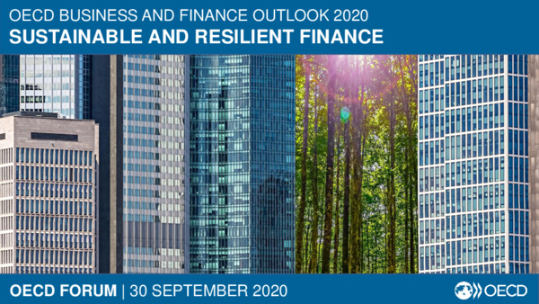 "Aligning Financial Markets with the Green Recovery: Presentation from the OECD Forum Virtual Event ""A Green COVID Recovery: The Role of Finance"""