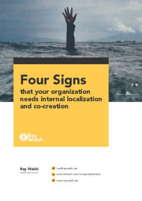 Four signs you need localization internally