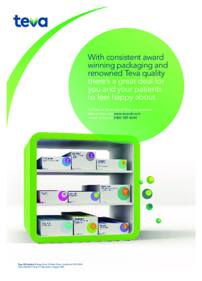 Teva's Award-winning packaging