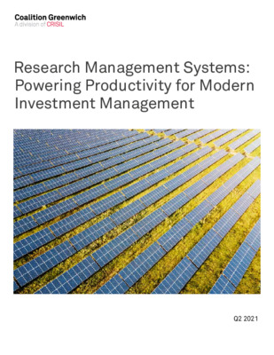Research Management Systems: Powering Productivity for Modern Investment Management