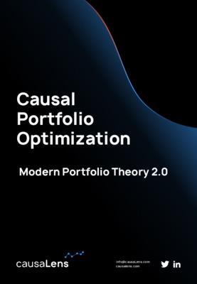 Causal Portfolio Optimization - Modern Portfolio Theory 2.0