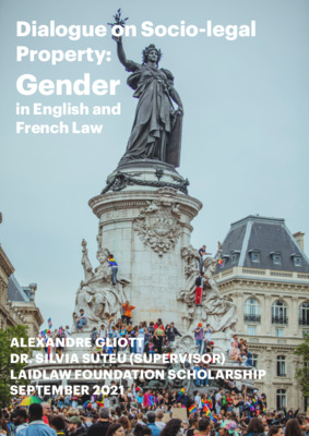Dialogue on Socio-Legal Property: Gender in English and French Law