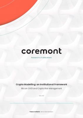 Crypto Modelling - an Institutional Framework