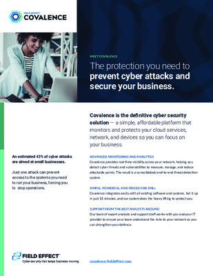 Covalence - Cyber Security for Hedge Funds