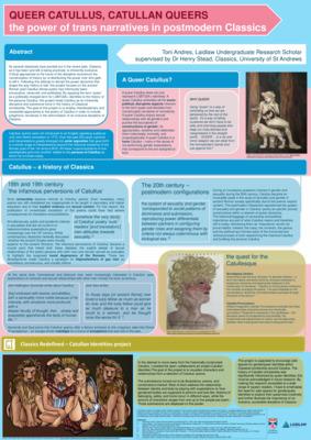 [Poster] Queer Catullus, Catullan Queers