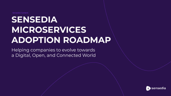 Sensedia Microservices Adoption Roadmap
