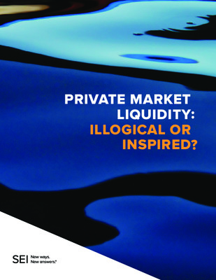 Private Market Liquidity: Illogical or Inspired?
