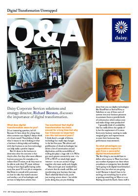 Digital transformation unwrapped Q&A